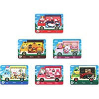 6 PCs Sanrio Crossover NFC Cards for ACNH NS Switch/Lite/Wii U with Case