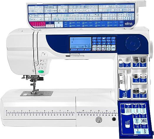 Máquina de coser ELNA 760 PRO Excellence: Amazon.es: Hogar