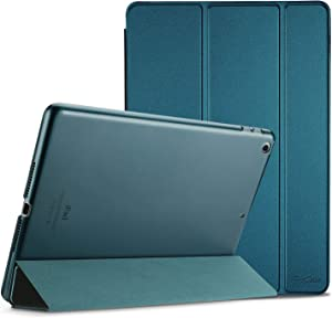 ProCase iPad 9.7 Case 2018 iPad 6th Generation Case / 2017 iPad 5th Generation Case - Ultra Slim Lightweight Stand Case with Translucent Frosted Back Smart Cover for Apple iPad 9.7 Inch –Teal