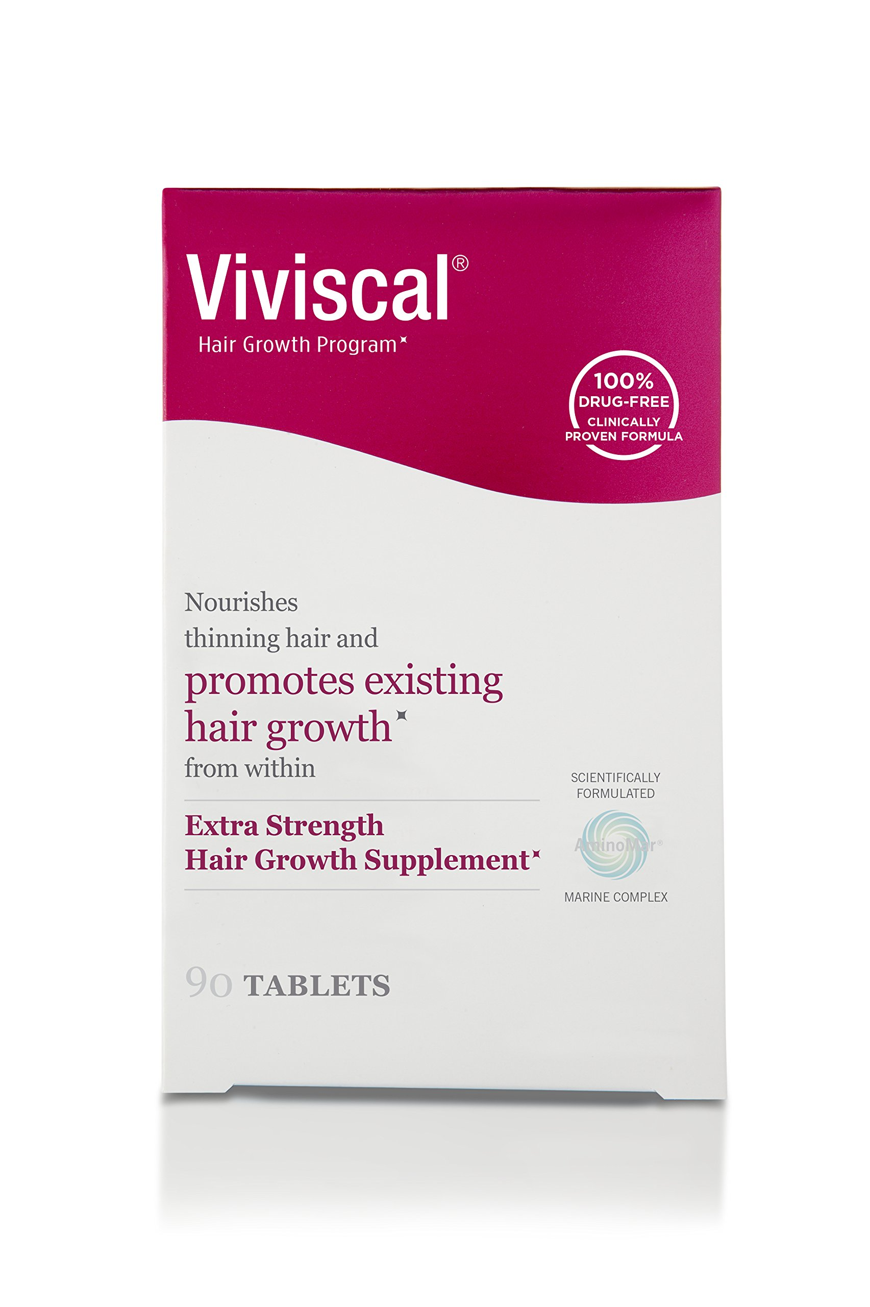 Viviscal Extra Strength Hair Nutrient Tablets, 90-Tablets