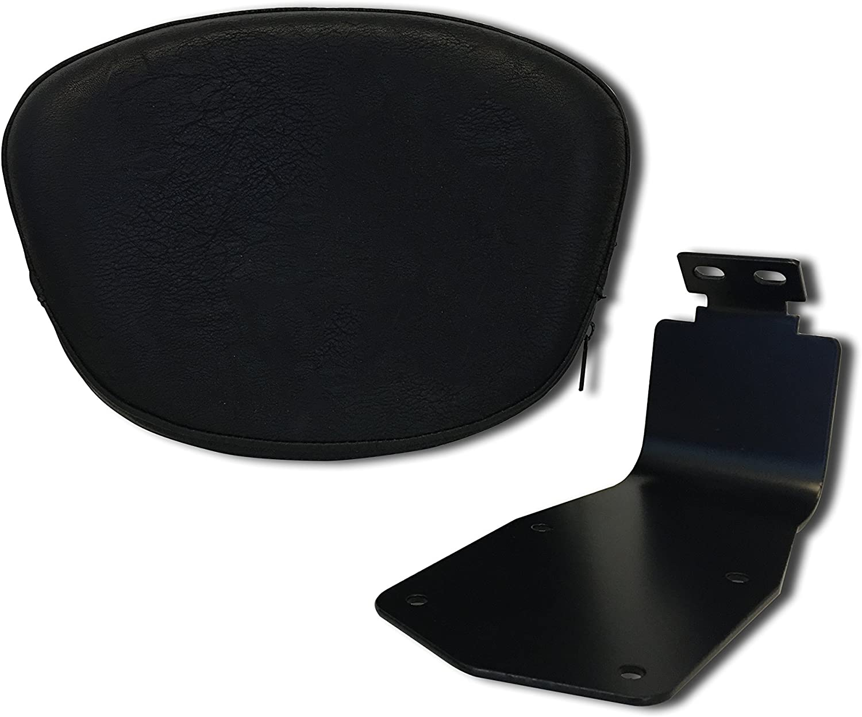Bestem CHYA-VS650-DR Chrome Driver Backrest for Yamaha V Star 650//XVS650 Classic Only