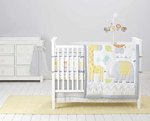 Cuddletime Globetrotter Crib Bedding Collection