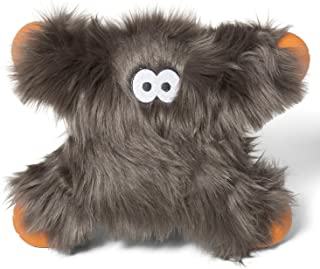 product image for West Paw Lincoln, Rowdies with HardyTex and Zogoflex, Durable Plush Dog Toy for Medium to Large Dogs, Pewter Fur