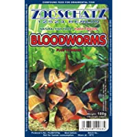 *** BUY 2 AND GET 1 FREE *** FROZEN BLOODWORMS - Fish food in 100g blister pack - Excellent for most types of freshwater and marine fish *FREE DELIVERY*