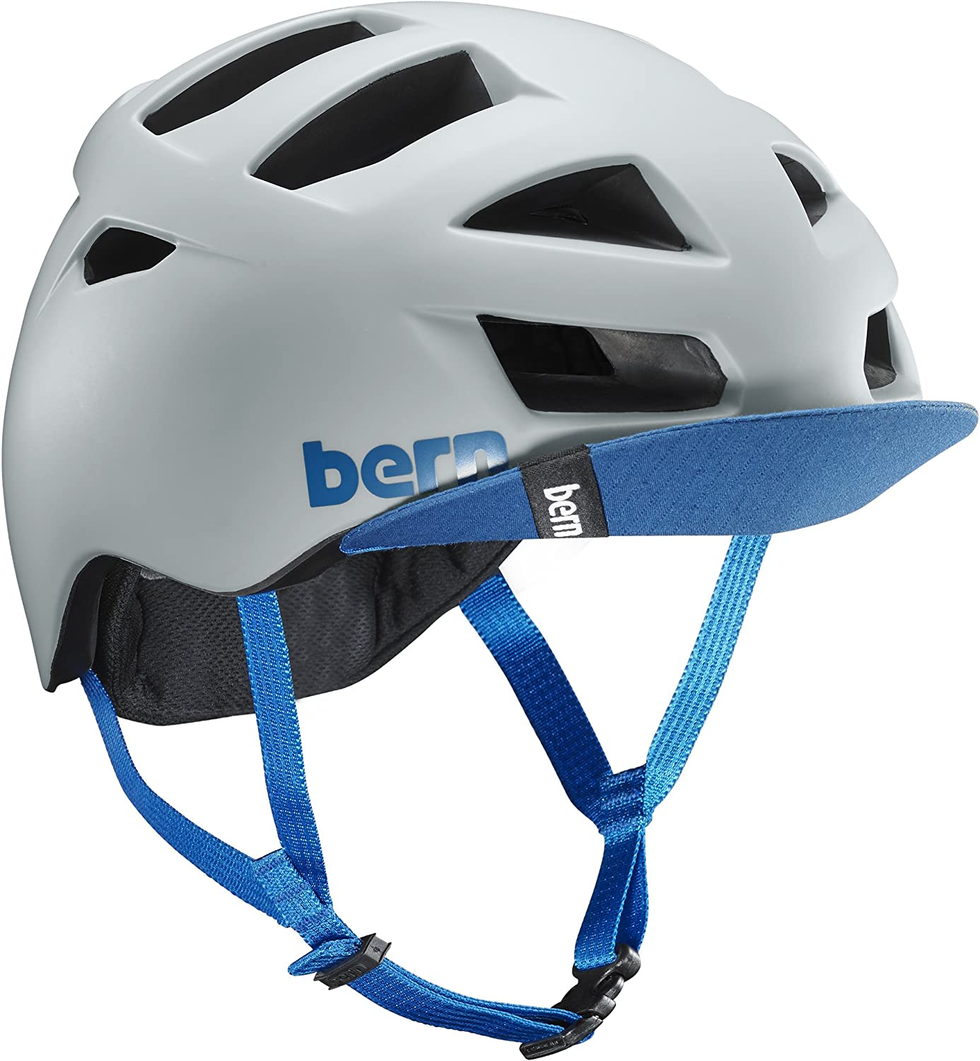 Bern 2016 Men s Allston Summer Bike Helmet w Visor