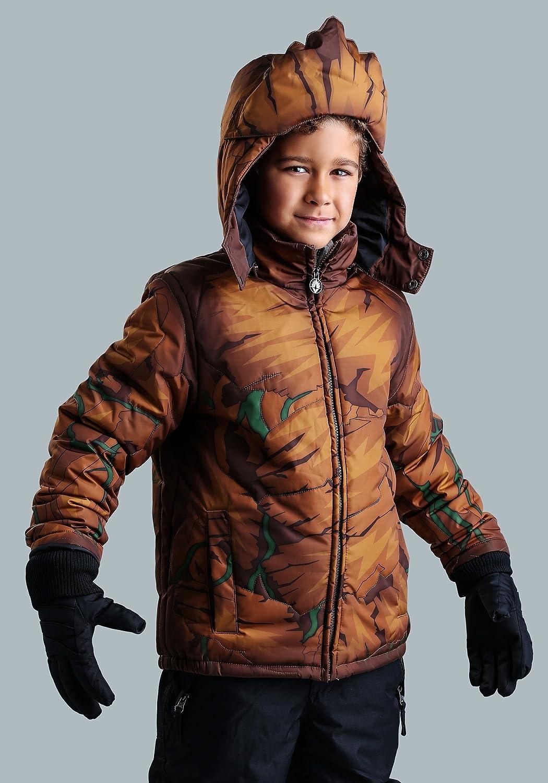FunComInc Marvel Groot Boys Puffer Coat Size 10