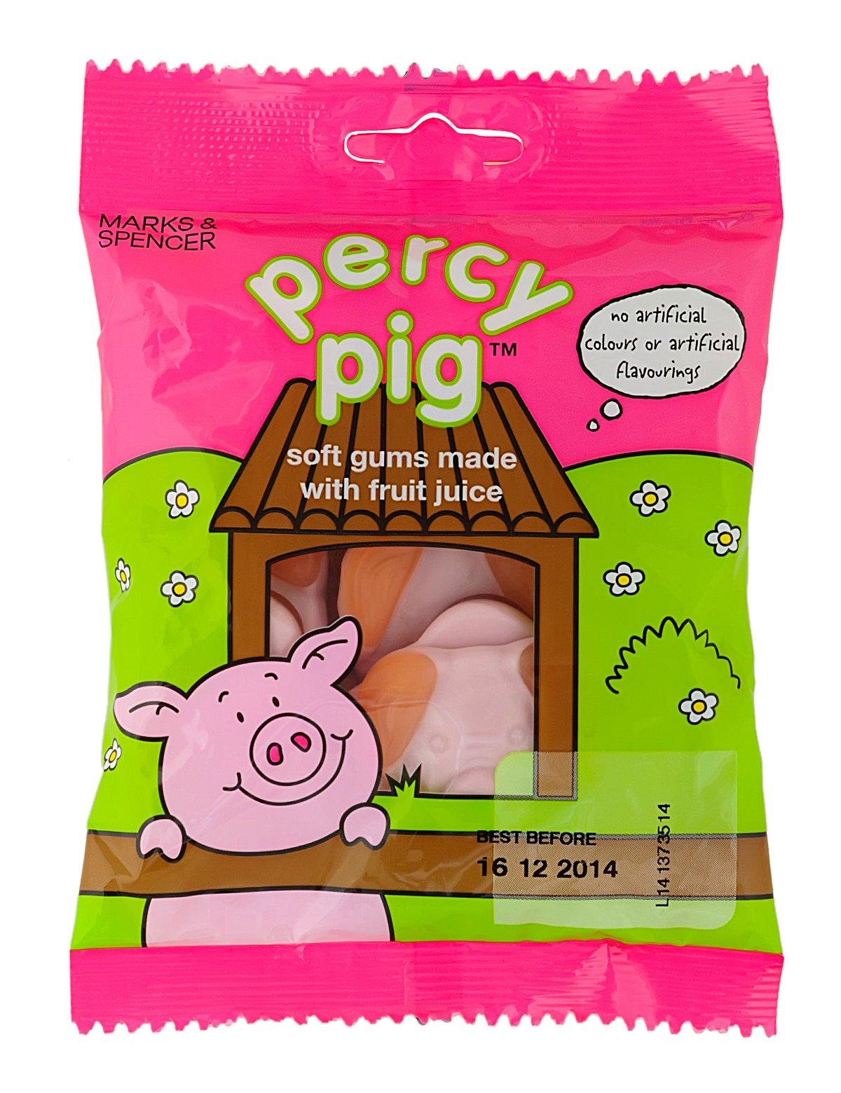Marks & Spencer Percy Pig Soft Gums, 100g