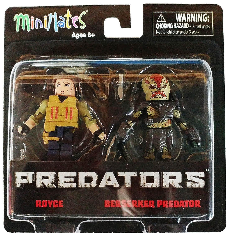 Minimates Predators Royce & Berserker Predator