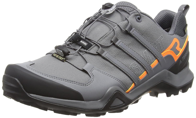Adidas Terrex Swift R2 GTX, Zapatillas de Cross para Hombre 49 1/3 EU|Gris (Grey Five F17/Grey Five F17/Hi-res Orange S18)