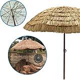 EasyGoProducts EGP-UMB-016 EasyGo 9.5' Thatch Patio Tiki Umbrella