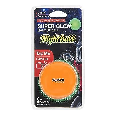 Nightball Tangle LED GloBall - Orange: Toys & Games
