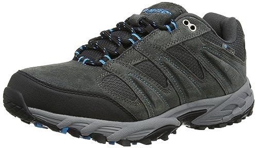 HiTec Sensor Waterproof Low Rise Mens Hiking Boots CharcoalBlack