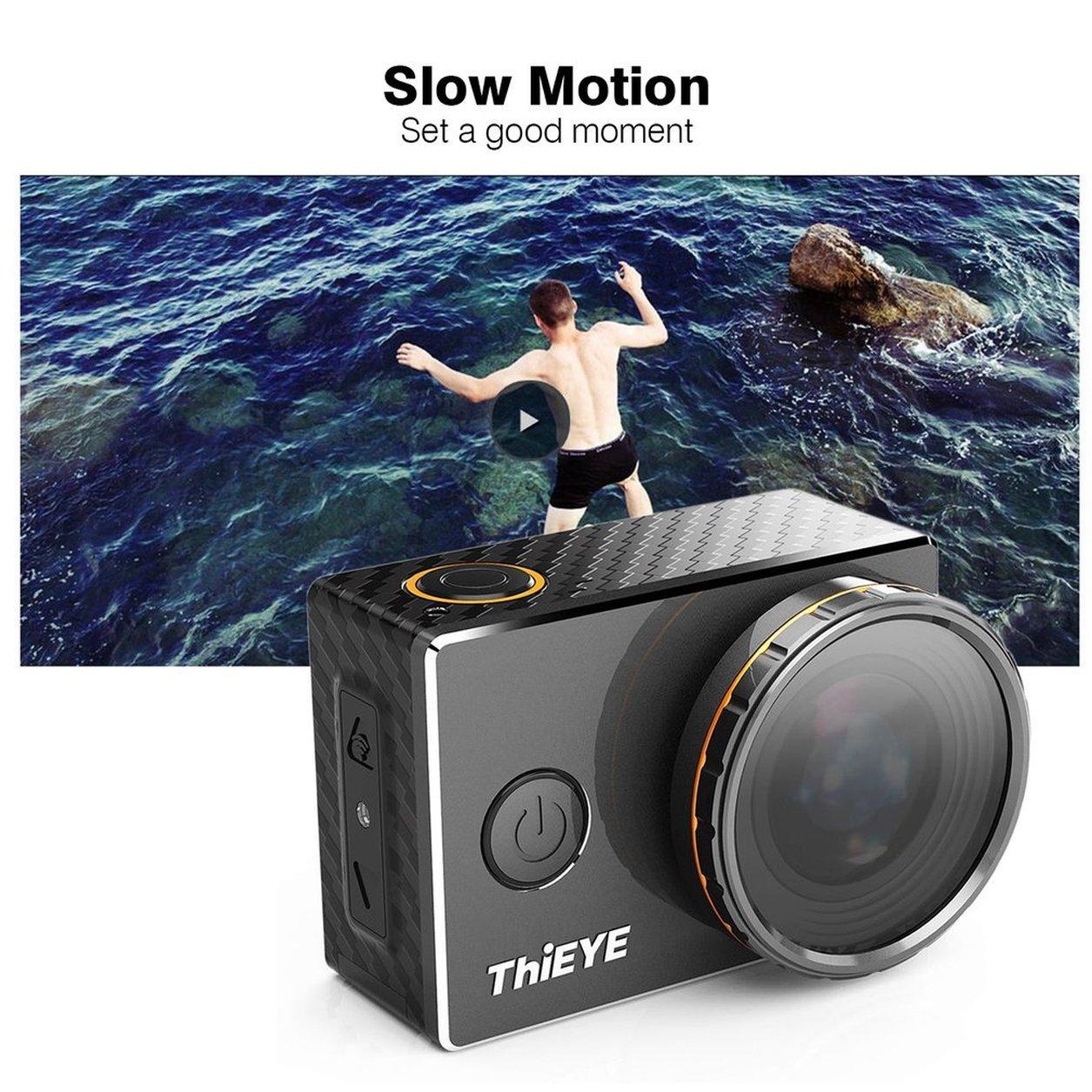 Dailyinshop ThiEYE V5s HD 4 Karat 2,0 Zoll Display Wasserdichte Action Kamera 1080 P Sport Kamera (Farbe  Schwarz)