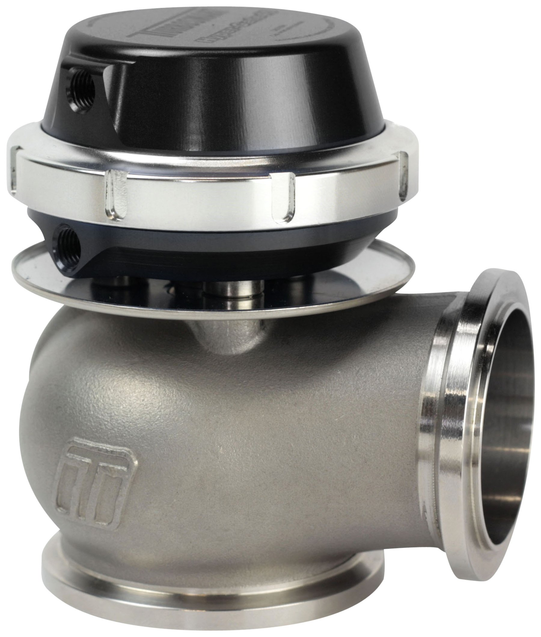 Turbosmart TS-0506-1041 Hyper-Gate45 Black 14 PSI WG45 2011 Wastegate,45 millimeter by Turbosmart
