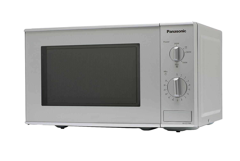 Panasonic NN-E221MMEPG - Microondas (800W, 20 litros), color Gris: Amazon.es: Hogar