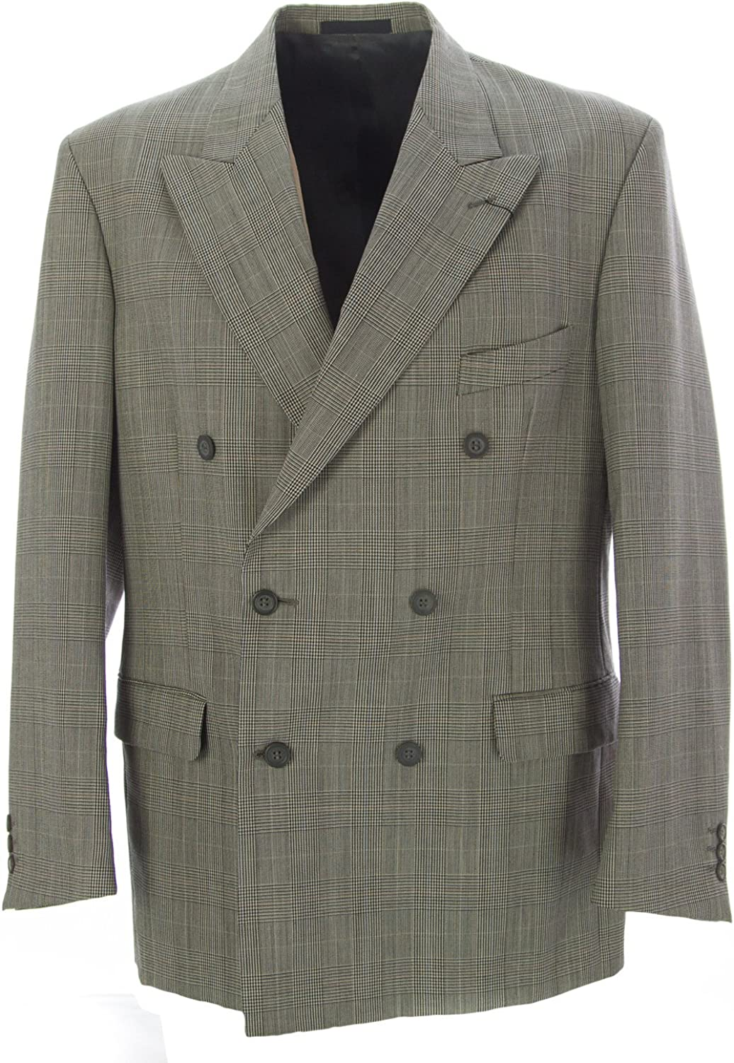 Pierre Cardin Men\'s Tweed Suit Blazer 40 R Grey/Multi 81LdtJuksxLUL1500_