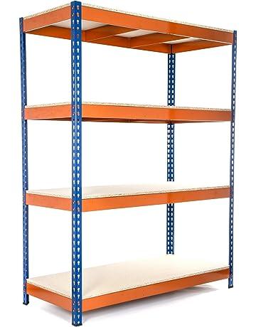 Racking Solutions - Estantería   Estante del garaje  Sistema de  almacenamiento de acero bb8e342becd7