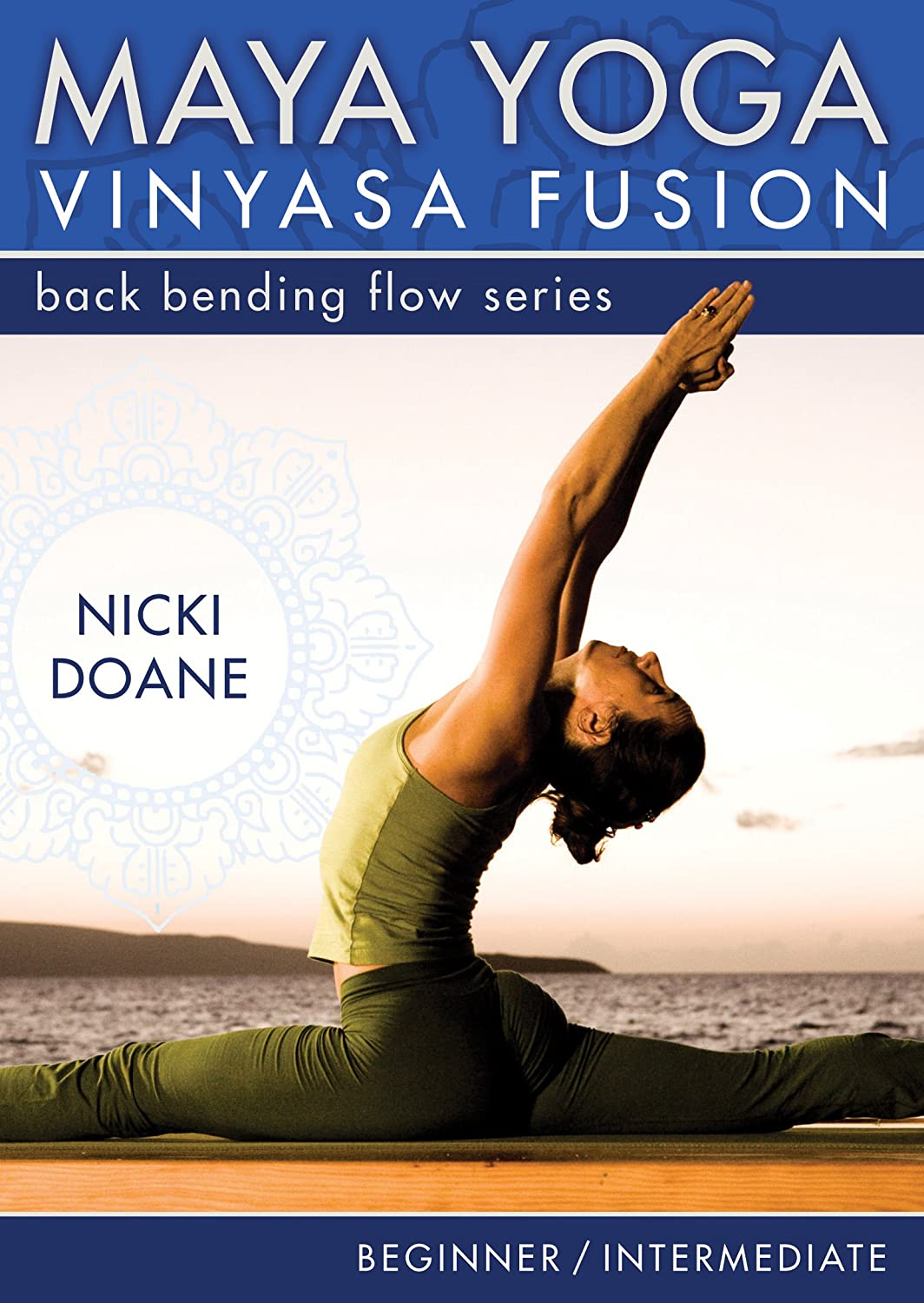 Amazon.com: Maya Yoga Vinyasa Fusion-Bending Back Flow ...