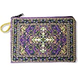 Tapestry Cloth Rosary Case Pouch Purse Keepsake Holder, 5 1/2 Inch