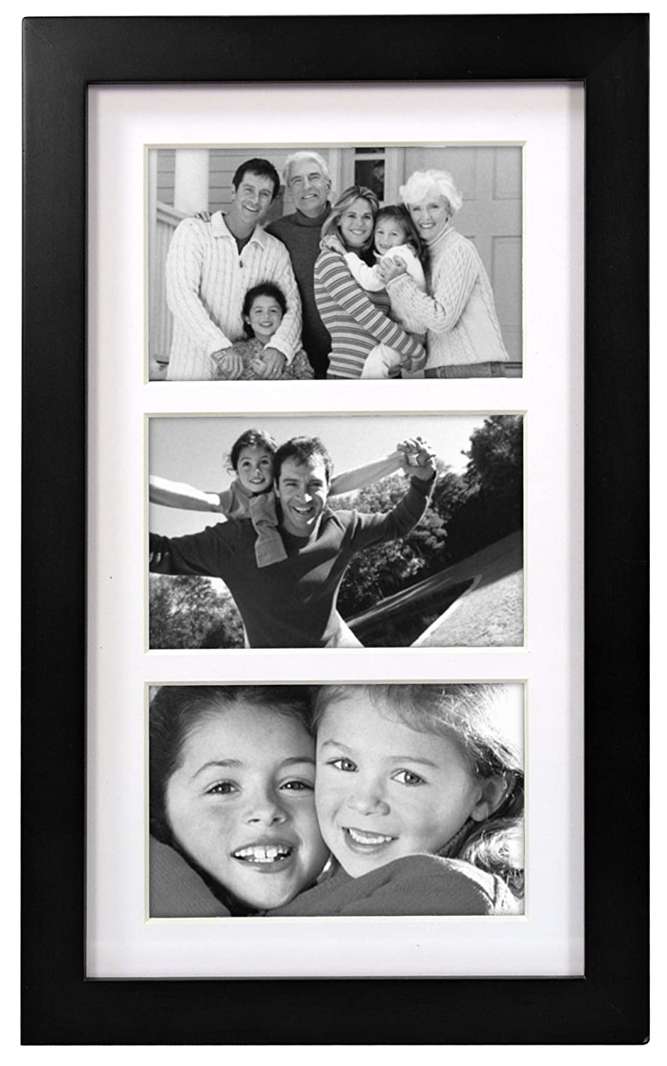 Amazon malden international designs matted linear classic amazon malden international designs matted linear classic wood picture frame black 4x6 inches 3op jeuxipadfo Images