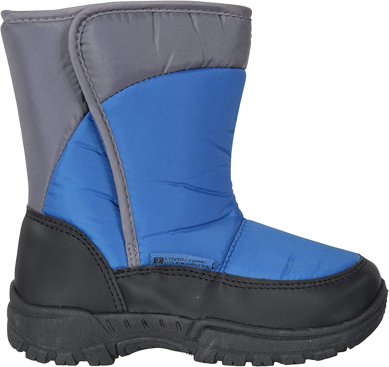 Mountain Warehouse Caribou Single Stripe Kids Snow Boot Winter Shoe
