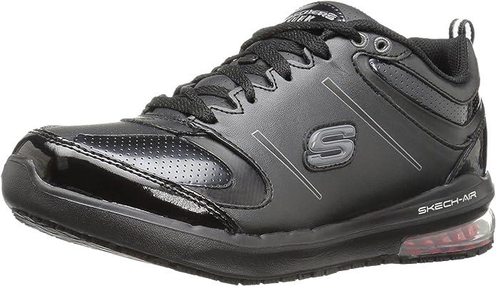 Skechers for Work Women's Lingle Work Shoe, Black, 8.5 M US MzmYw