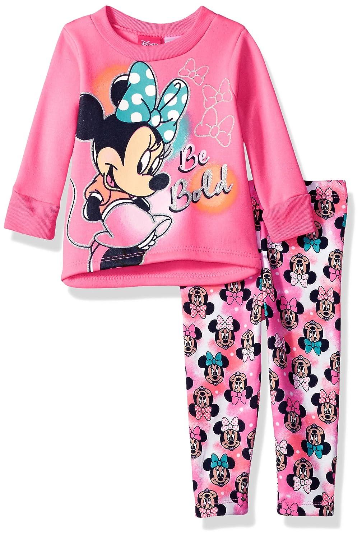 Disney Girls Minnie Mouse 2-Piece Fleece Legging Set
