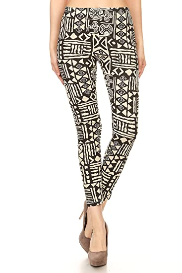 5e9b5bbd6de6a Rue 21 Rue21 Aztec Print High Waist Yoga Pants (Large) at Amazon ...