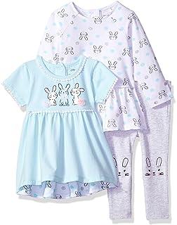 4c5f635a8963 Amazon.com  Little Me Baby Girls  Chiffon Tunic and Capri Set  Clothing