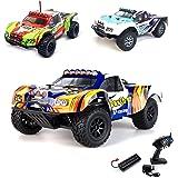 1:18 Elektro 2.4GHz Off-Road RC ferngesteuerter Monstertruck, Fertig Montiert, 4x4 4WDAntrieb, Digital stufenlose vollproportionale Steuerung, Komplett-Set RTR