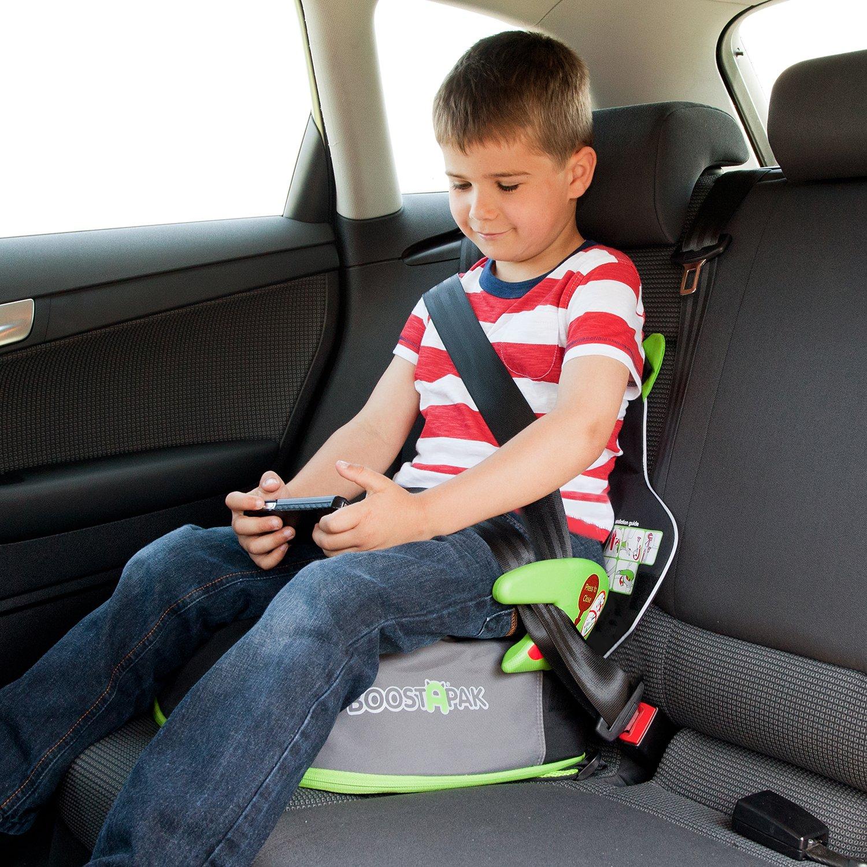 Trunki boostapak travel backpack booster car seat green amazon co uk luggage