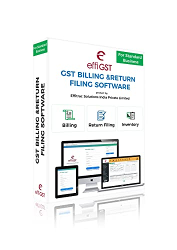 effiGST Standard Business Package (Billing + Return Filing+