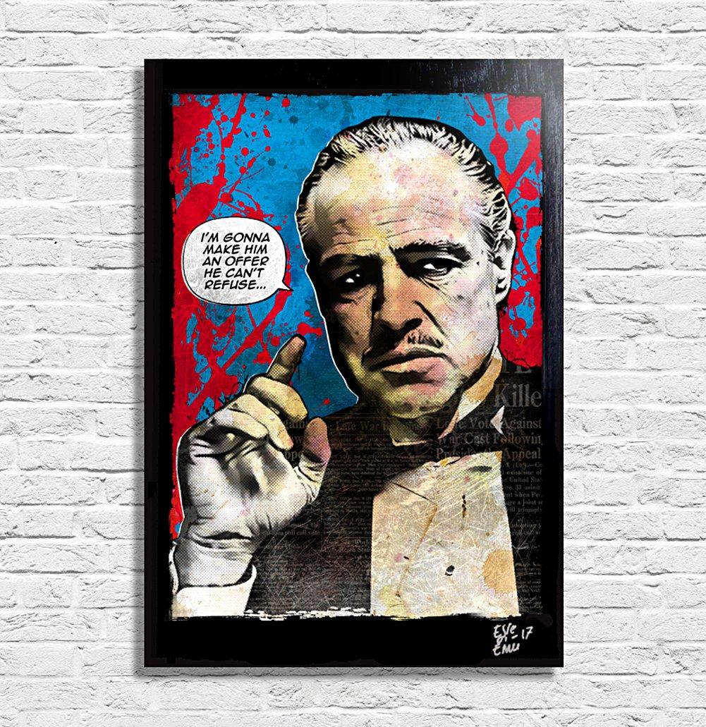 Amazon.de: Don Vito Corleone aus film Der Pate (The Godfather ...