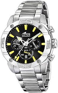24a9f60292fb Lotus - 15643 6 - Montre Homme - Quartz Chronographe - Chronomètre -  Bracelet Acier