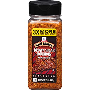 McCormick Grill Mates Brown Sugar Bourbon Seasoning, 9.75 oz