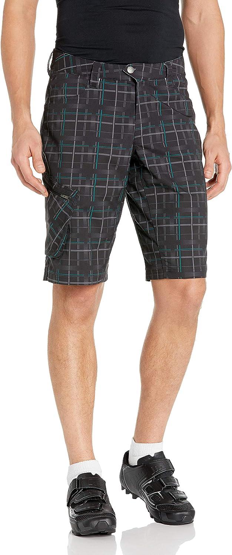 Pearl iZUMi Mens Canyon Plaid Shorts