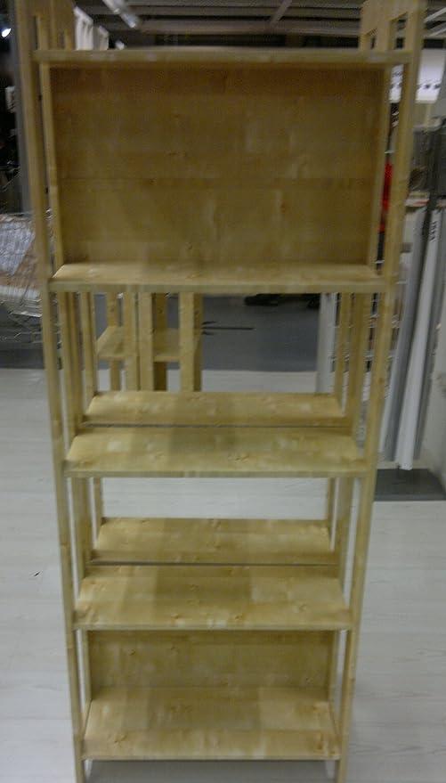IKEA LAIVA estantería de madera, estantería para libros: Amazon.es: Hogar