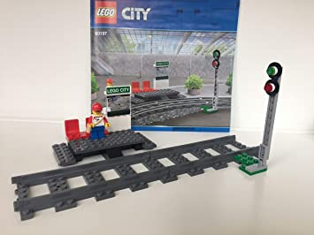 Minifigur neu 60197 *** BLITZVERSAND *** Lego Eisenbahn Bahnsteig mit Signal