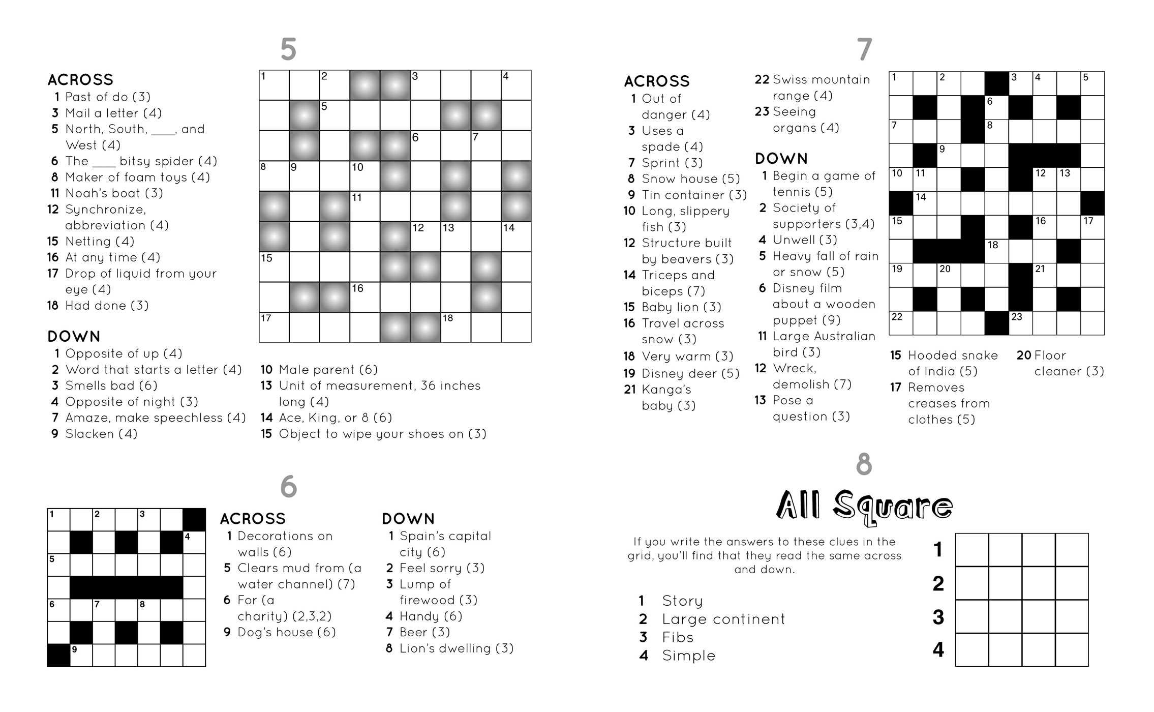 Go fun big book of crosswords 2 andrews mcmeel publishing go fun big book of crosswords 2 andrews mcmeel publishing 0050837355699 amazon books aljukfo Choice Image