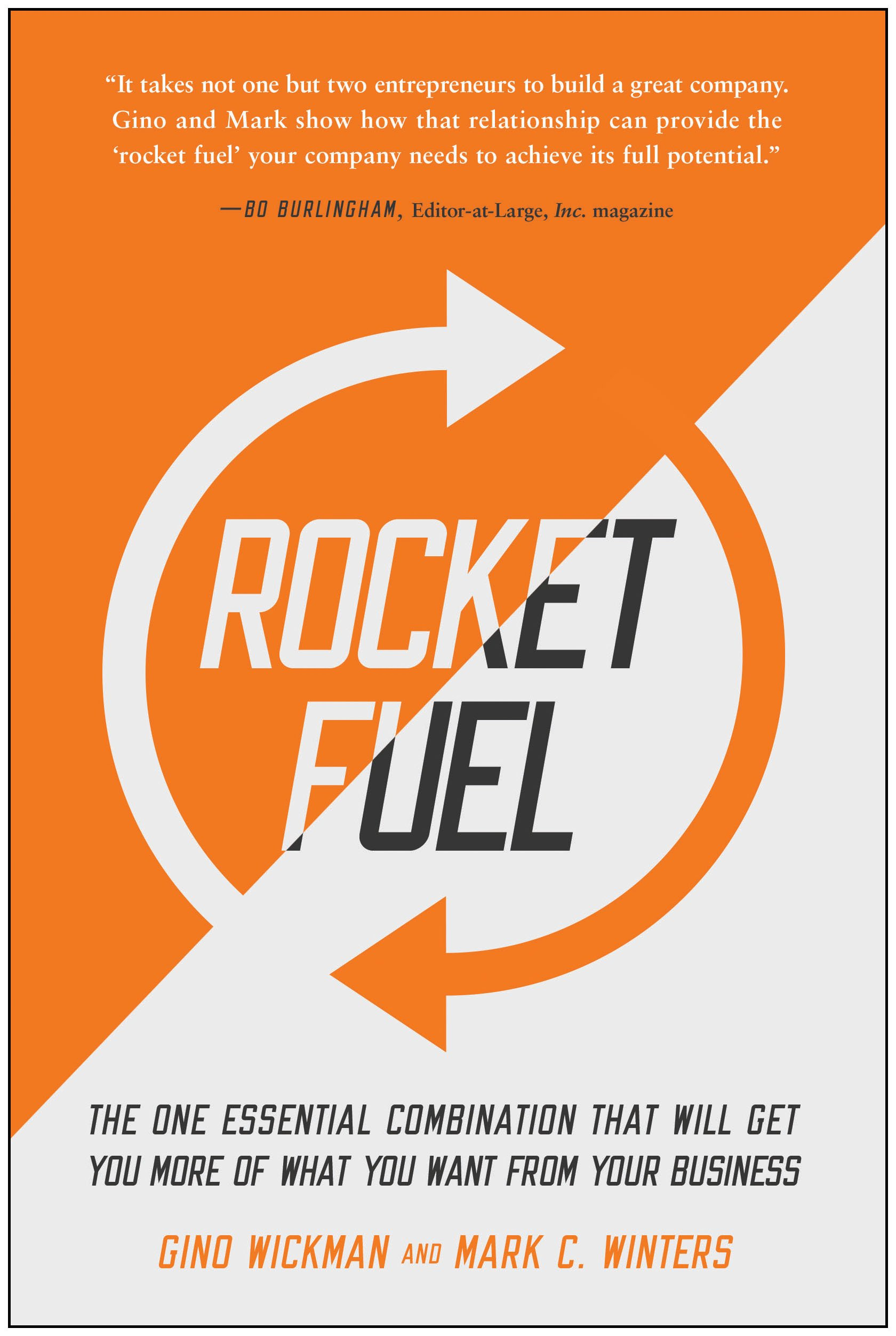 Image result for Rocket Fuel. Gino Wickman