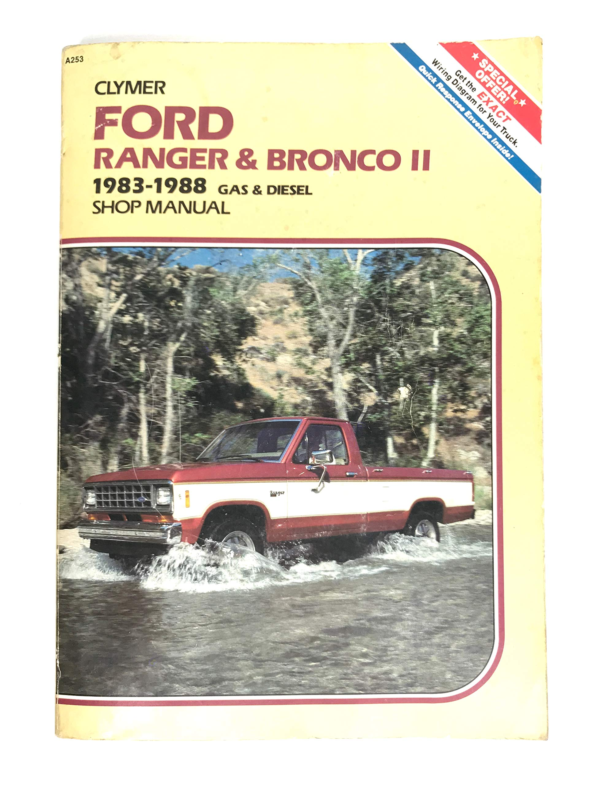 Ford Ranger and Bronco II 1983-1988 Gas and Diesel Shop Manual: Lahue,  Kalton C.: 9780892873760: Amazon.com: BooksAmazon.com