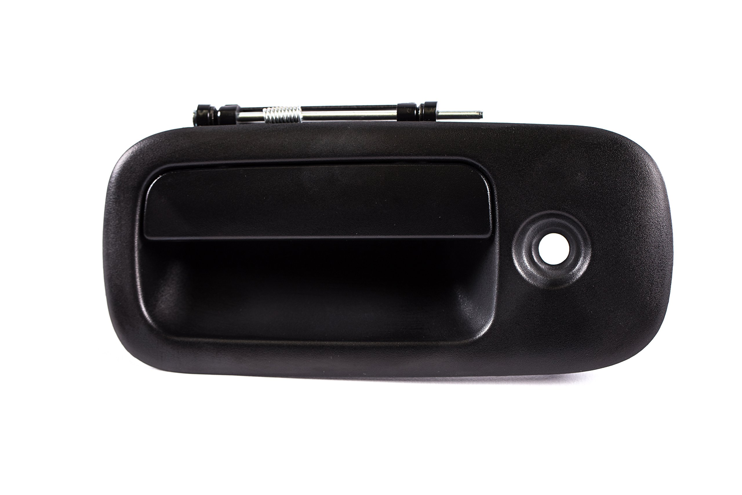 PT Auto Warehouse GM-3521A-TG Tailgate Handle Textured Black