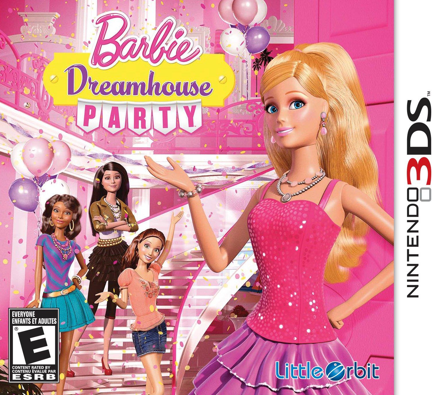 Barbie Dreamhouse Party- Nintendo 3DS