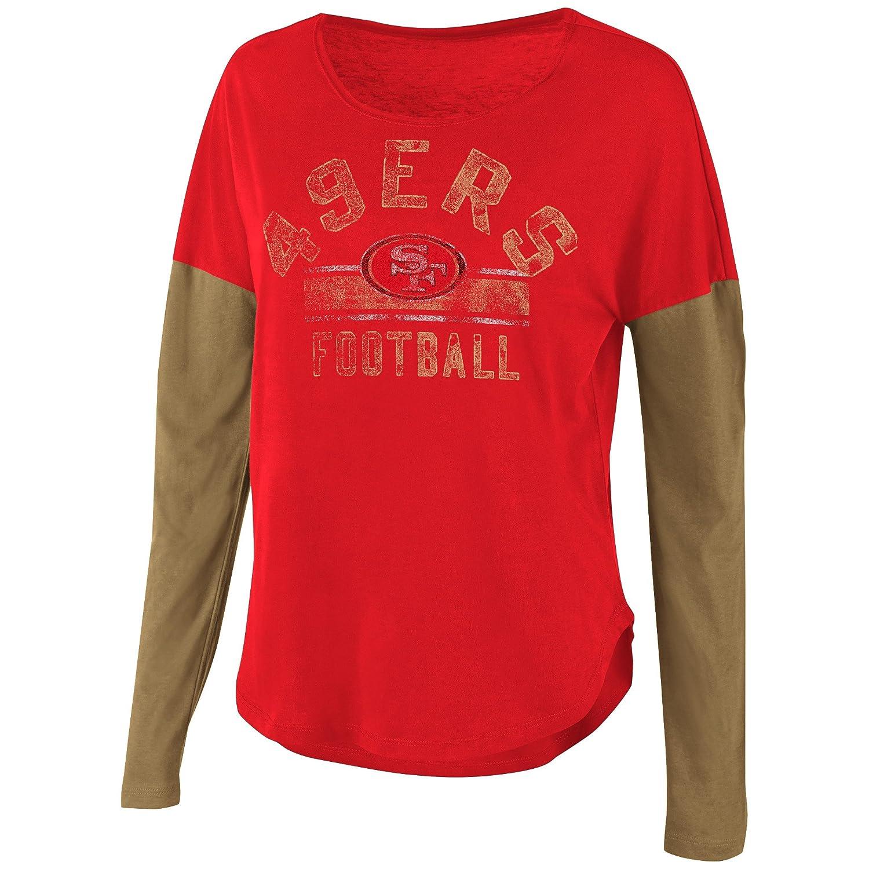 0e75b13d8 San Francisco 49ers Womens Long Sleeve T Shirts - Nils Stucki ...