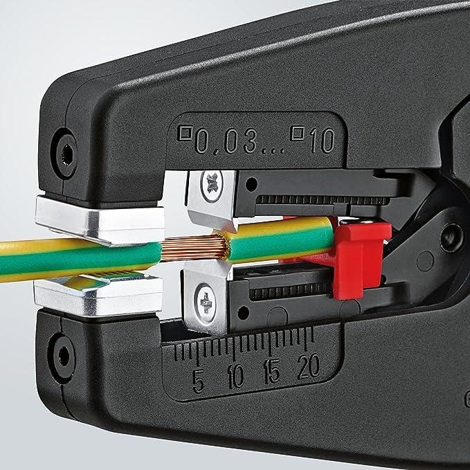 Knipex Alicate Pelacables 12 42 195 SB, 194 x 119 x 29 mm: Amazon.es: Bricolaje y herramientas