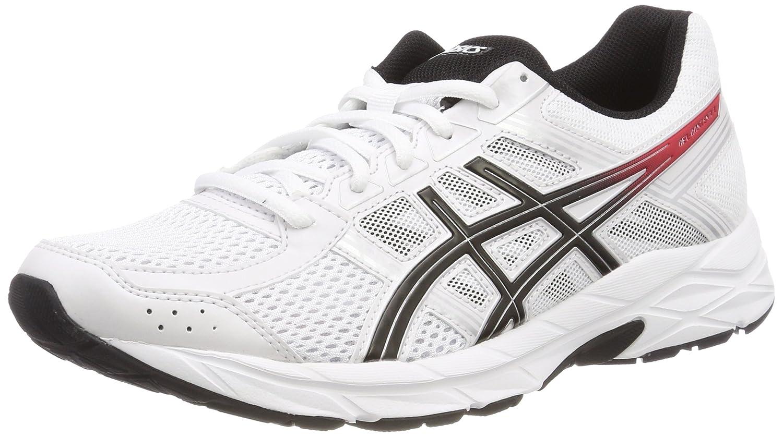 Asics Patriot 9, Chaussures de Running Homme, Blanc (White/Black/White 0190), 44 EU