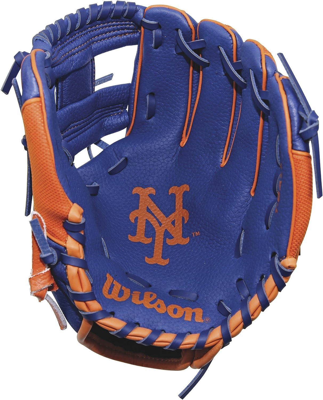 Left Hand 10 Royal//Orange Wilson A200 New York Mets Glove