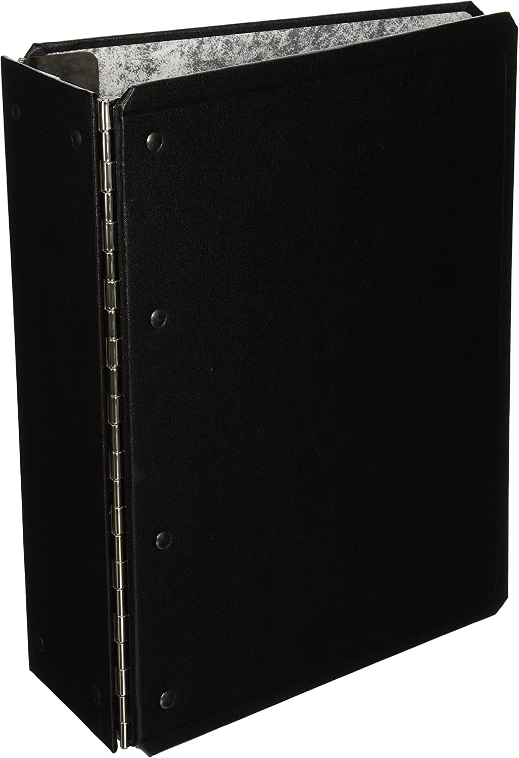"Oxford C6193 Catalog Binder with Expanding Posts, 5 1/2"" Cap, 11 x 8 1/2, Black"