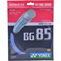 Yonex BG 85 Badminton Strings, 0.67mm (Blue)
