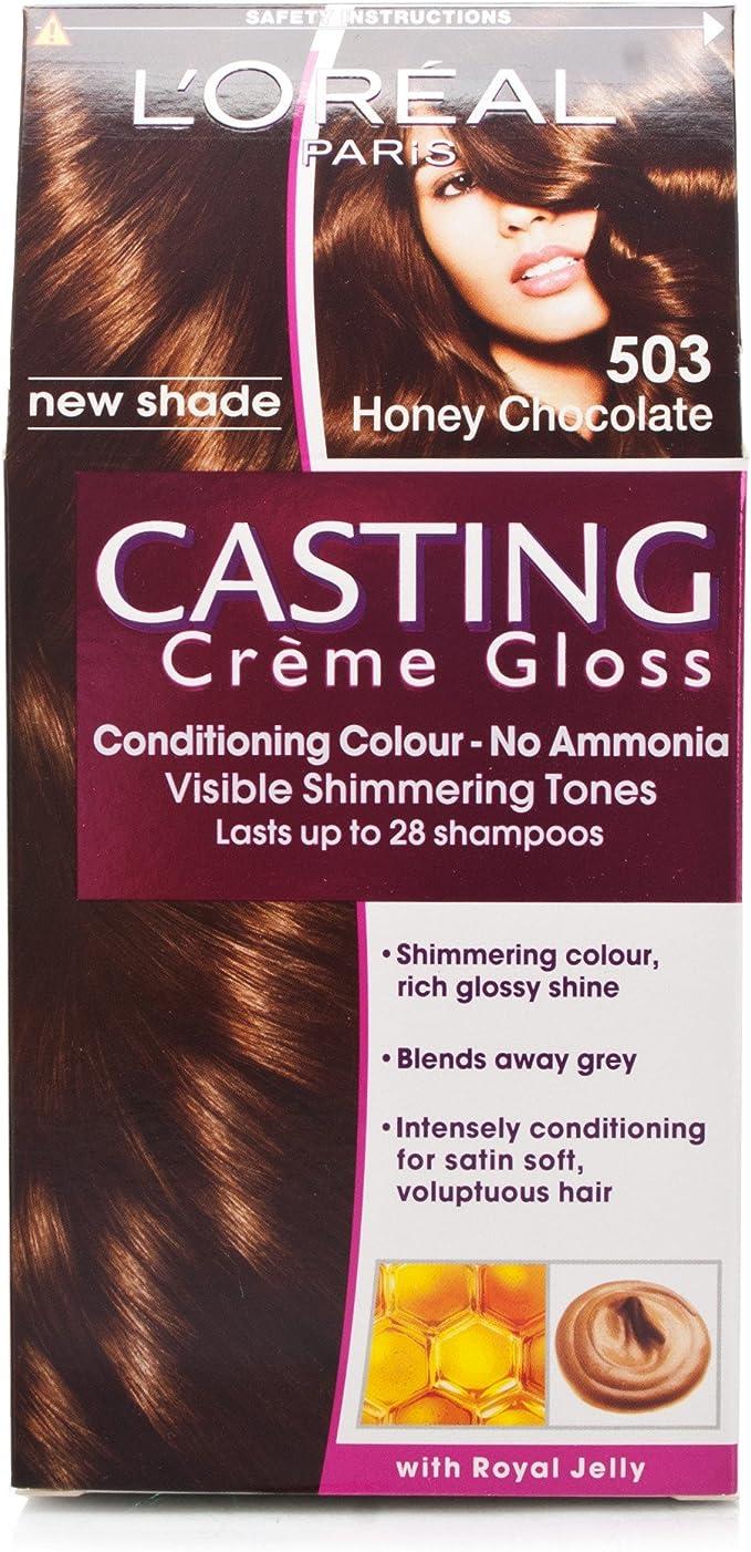 L Oréal Casting creme gloss miel Chocolate 503